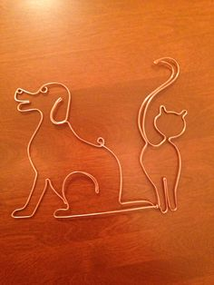 Courtney cat/dog ornament