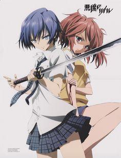 Haru and Tokaku (Akuma no Riddle)