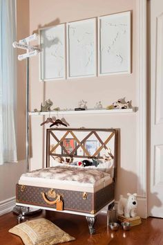 Read more about my dog room on our blog! http://montecristotravels.com/a-travel-dogs-room-revealed/