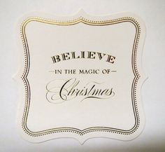 Tarjeta hecha a mano de Navidad victoriana Anna Griffin por meshipe