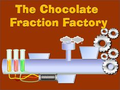 Equivalent Fractions - The Chocolate Fraction Factory Common Core Activities, Fraction Activities, Comparing Fractions, Equivalent Fractions, Chocolate Bars, Chocolate Factory, Roald Dahl Activities, Thematic Units