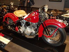1940 Harley-Davidson knucklehead