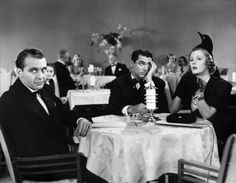 """Ralph Bellamy, Cary Grant and Irene Dunne in """"The awful truth"""" directed by Leo McCarey, 1937 Black and white Hollywood Actor, Golden Age Of Hollywood, Classic Hollywood, Old Hollywood, Hollywood Stars, Cary Grant, The Awful Truth, Irene Dunne, Jeanette Macdonald"""