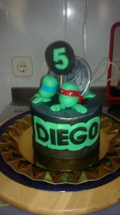 Tortugas ninja para Diego