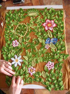 Letras e Artes da Lalá: Crochê irlandês/Irish lace: emendas e acabamento (www.pinterest.com)