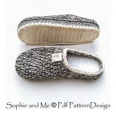 Ravelry: Slipper-Clogs pattern by Sophie and Me-Ingunn Santini