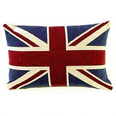 BBC Sherlock goodies: Union Jack cushion from the 221B apartment   £20 @ AnAngelAtMyTable