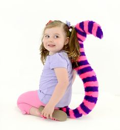 World book day ... Cheshire cat tail!