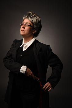 Doctor Who 12th Doctor Femme Cosplay - Ottawa Comic Con 2015, photo by Droo