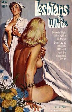 Lesbians in White | #pulpcovers