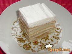 Keks torta sa breskvama