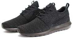 Bows & Arrows - Nike Flyknit Roshe Run NM (Black/Black-Midnight Fog)