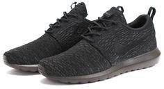 Bows & Arrows - Nike Flyknit Roshe Run NM (Black/Black-Midnight Fog)