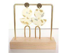 washi kiyoko par washikiyoko sur Etsy Washi, Place Cards, Place Card Holders, Etsy, Modern Jewelry, Ethnic Jewelry, Ears, Boucle D'oreille, Locs