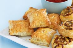 Keep this clever variation on the sausage roll in the freezer for unexpected guests.