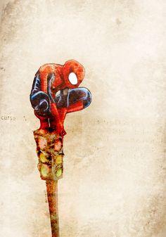 Tema da semana: O Espetacular Homem-Aranha. Arte Bruno Marcello...