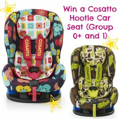 The Cosatto Hootle Car Seat can be used rear-facing in group - and be turned into a front-facing car seat for group 1 - Front Facing Car Seat, Win Car, Competition Giveaway, Car Chair, Car Seats, To My Daughter, Babies, Kids, Amelie