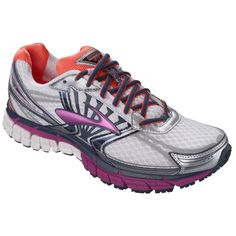 Brooks Adrenaline GTS 14 our best-selling running shoe for women SHOE CATEGORY: Support PRONATION: Moderate CONSTRUCTION TYPE: Combination PLATFORM: Universal Platform SURFACE: Road/Track ARCH: Medium, High BODY BUILD: Small, Medium, Large DNA LAYOUT: Anatomical DNA Layout WATER-RESISTENT: No LAUNCH DATE: October 1, 2013 WEIGHT: 9.4 oz MIDSOLE DROP: 12 mm