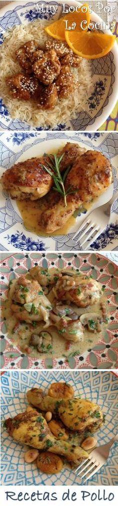 Una recopilación de las recetas de pollo de www.muylocosporlacocina.com
