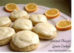 Grand Meyer Lemon Cookies