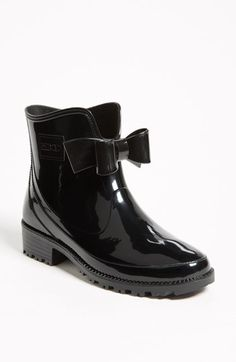 cute summer rainboots. RED Valentino 'Bow' Rain Boot (Women) | Nordstrom