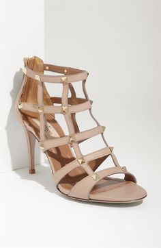 Valentino - Studded Cage Sandal