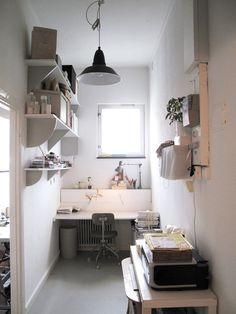 Interior and furniture for the Anna-Sara Dåvik studio in Årsta.