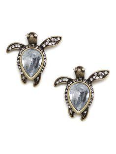 Our Sea Turtle Earrings