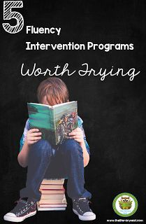 Are you looking for fluency intervention programs, but aren't sure where to start? Here is a list of effective programs proven to strengthen fluency. Use them with your Kindergarten, 1st, 2nd, 3rd, 4th, or 5th grade classroom or home school students.