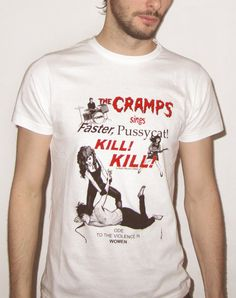 The Cramps sings Faster Pussycat Kill Kill par GeoffreyBeloeil, €27.00