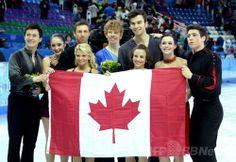 フィギュア団体戦でロシアが今大会初の金メダル獲得、ソチ五輪
