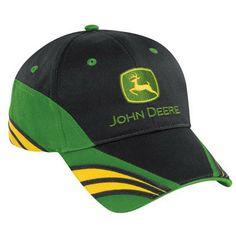 John Deere Black and Green Cap with Yellow Visor Accents – GreenToys4u.com John  Deere 2c4127f15d77
