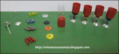 * La Magia en Miniatura * : Tutorial Copas