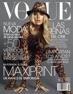 una de mis portadas favoritas de Vogue Latinoamerica aunque el contenido no fue muy bueno que digamos Julio 2010