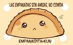 por un mundo sin maltrato a las empanadas.!! :P  Arte por Ela Nuñez.. Sigue sus trazos en Devian art y Facebook.