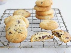 Cafe Choc Chip Cookies