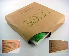 Grass - Sustainable Packaging Design #packaging #design #packagingdesign