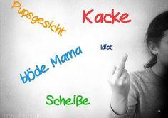 Tipps und Tricks wie du auf Schimpfwörter deines Kindes am Besten reagierst...elterntipps, erziehungstricks, erziehungstipps, Kinder, Pubertät, kleinkind