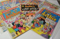 8 Archie Comics Group Books/Little Archie Archie Comics, Archie Comic Books, Vintage Comic Books, Vintage Comics, Christian Comics, Comic Book Display, Clean Slate, 1970s, Concept Art