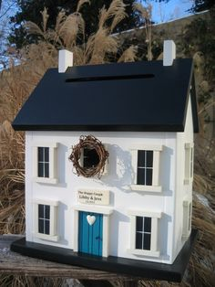 birdhouse money card box
