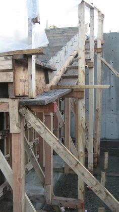 cantilevered concrete stair suspended slab reinforcement stair
