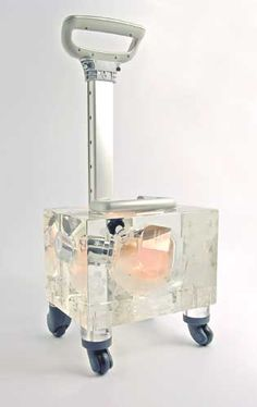 Flowerbomb Trolley 2007 by Ted Noten