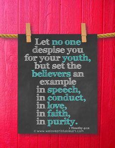 Option 2 1 Timothy 4:12