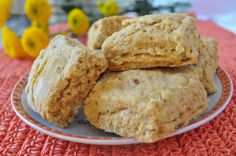 Sweet Potato Cornmeal Biscuits