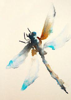 Karin Johannesson Contemporary Watercolour