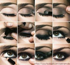 Dark Smokey Eyes...w/out all the shimmer