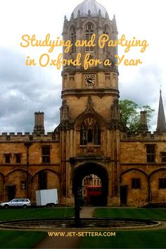 Read about the year I spent in Oxford England studying for my MBA. Parties…