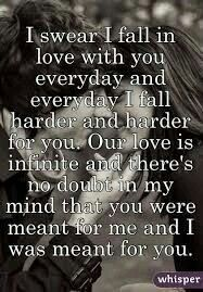 How did You sleep? Baby, I love you more than I have ever loved anyone. We are meant to be and always will.Words from My amaziing man. Soulmate Love Quotes, Love Quotes For Her, Love Yourself Quotes, You Are My Everything Quotes, Happy Couple Quotes, Forever Love Quotes, Qoutes About Love, I Love You Forever, Husband Quotes