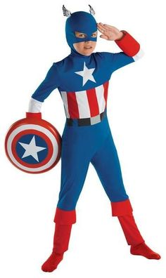 Lead the Avengers as you fight for liberty and justice for all in this Child Captain America Costume. This Child Captain America Costume includes the jumpsuit and the full mask. Superhero Costumes Kids, Toddler Costumes, Boy Costumes, Super Hero Costumes, Halloween Costumes For Kids, Adult Costumes, Batgirl, Captin America, Captain America Costume