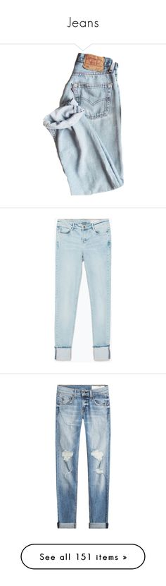 """""""Jeans"""" by daria-aleksandrova ❤ liked on Polyvore featuring pants, bottoms, jeans, pantalones, denim, light blue, blue jeans, light blue jeans, zara jeans and blue"""